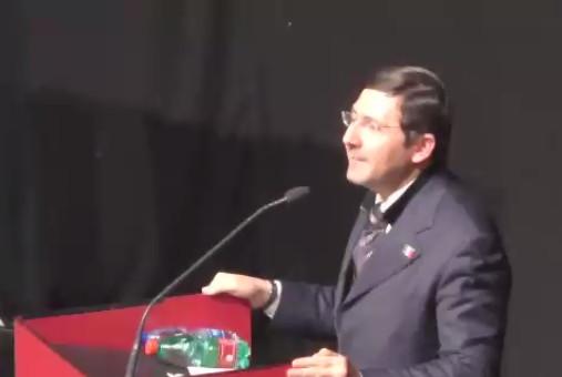 Il Presidente Giulio Bacosi all'Auditorium della Conciliazione con Tremonti e Sgarbi