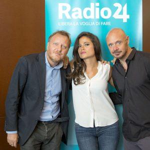 Giulio Bacosi in diretta su Radio 24 con #IFunamboli