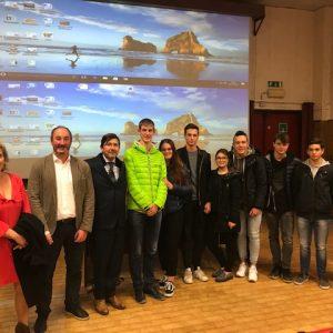 Protocollo d'Intesa con il Prefetto di Sondrio – Incontro con gli studenti