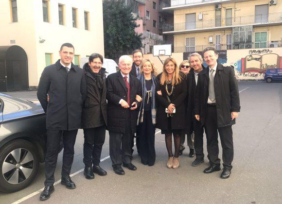 Catania – Firmato il Protocollo d'Intesa con il Prefetto – Incontro con gli Studenti