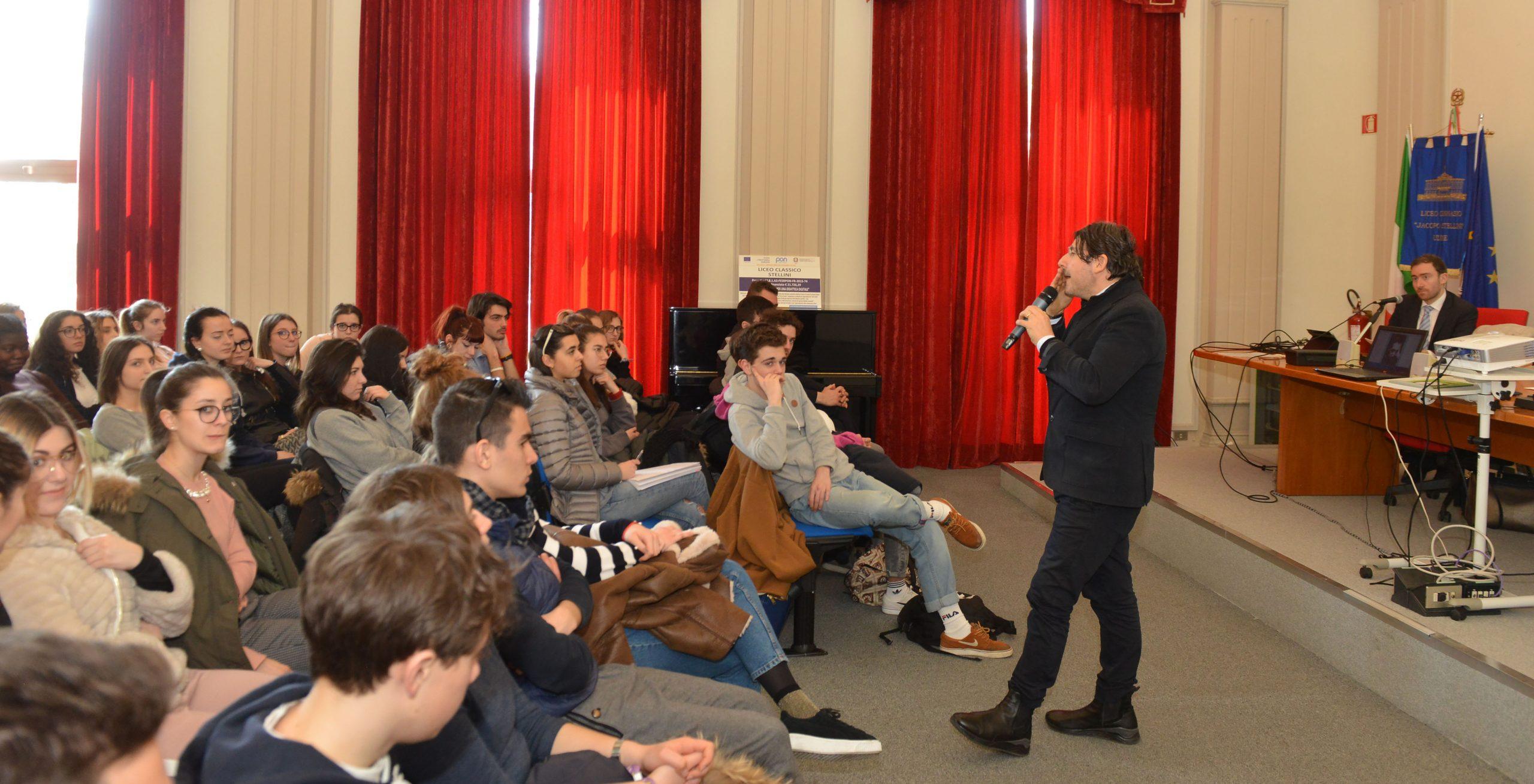 Udine 23 Marzo 2018 incontro allo stellini Agenzia Petrussi foto Massimo Turco