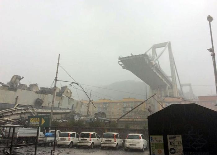 #Genova – Quel crollo che ci deve far riflettere