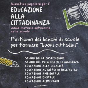 Educazione alla Cittadinanza – Democrazia nelle Regole aderisce all'iniziativa dell'ANCI