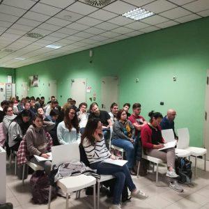 """Incontro presso   l'Istituto  Professionale di Stato """"Cesare Musatti"""" di Dolo (Venezia)"""