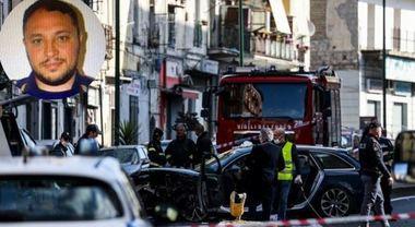 Poliziotto muore a Napoli