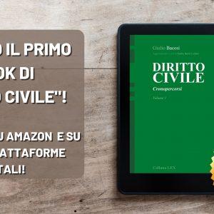 E' USCITO IL PRIMO EBOOK DI DIRITTO CIVILE – Cronopercorsi a cura di Giulio Bacosi